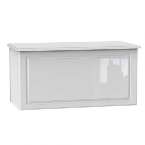 Balmoral White Gloss Blanket Box